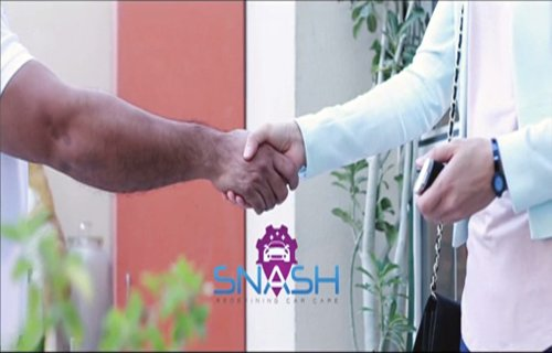 Snash Booking at your doorsteps video